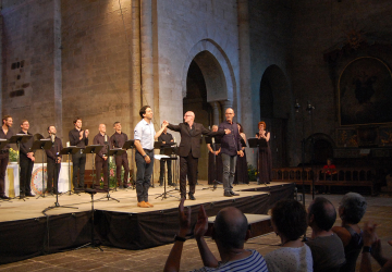 2015_Abbaye de Sylvanès_Les éléments avec Ivan Solano et Antonio Chagas Rosa