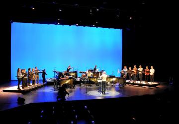 2019_Les éléments et les Percussions Claviers de Lyon, en répétition à Odyssud