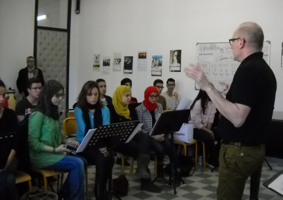 Master Class de Joël Suhubiette à Beyrouth (Liban) 2014