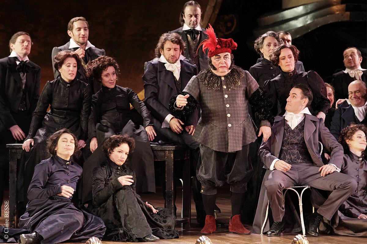 Les éléments à l'Opéra Comique © C.Besse